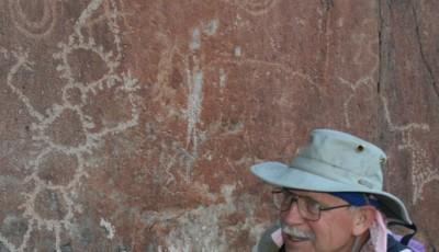 SB - Allen Dart in Cottonwood Canyon  near Lower Gila Box Canyon NM  WEB