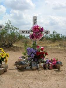 SB - Barbara Jaquay Roadside Memorial