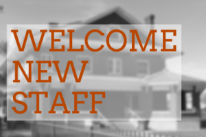 Welcome new staff 400x265