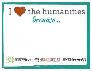 #AZhumanities and #nehturns50