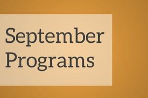September programs