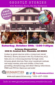 Ghostly Stories Family Event